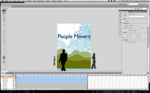 Finish animating the text
