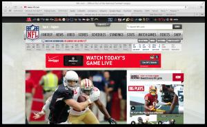 NFL website