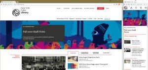 nypl homepage comparison